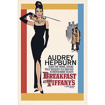 Breakfast at Tiffany's Poster Audrey Hepburn (American)