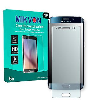 Samsung Galaxy S6 Edge Screen Protector - Mikvon Clear (Retail Package with accessories) (intentionally smaller than the display due to its curved surface)