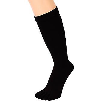 TOETOE Mens Toe Socks - Black