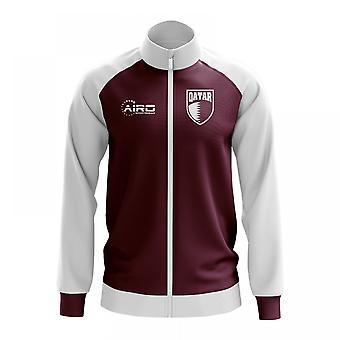 Qatar conceito futebol Track Jacket (Borgonha) - crianças