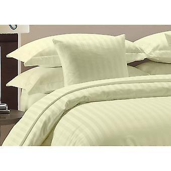 1000 Tc-100% Cotton Stripe Bed Sheet Set-ivory