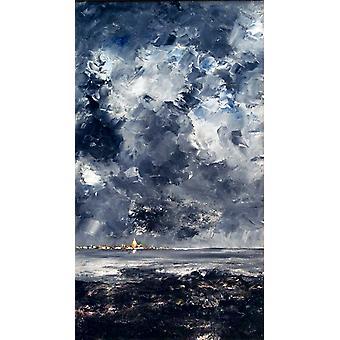 The City, August Strindberg, 80x40cm