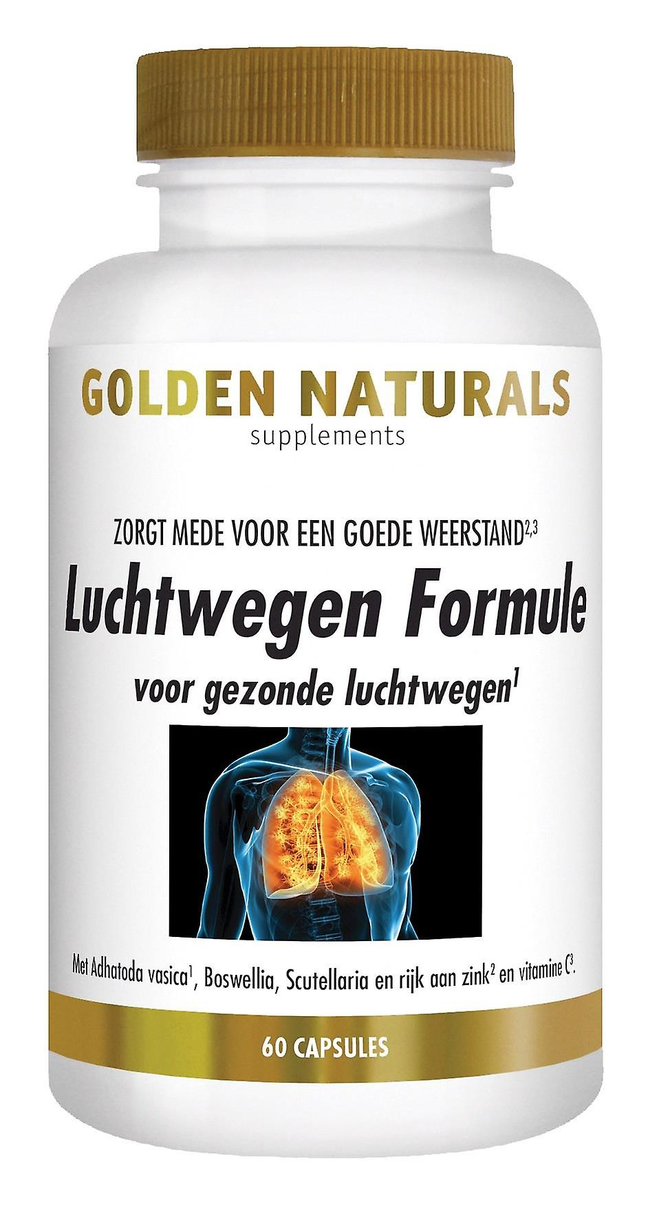 Golden Naturals Formula (60 vegetarian capsules) Airways