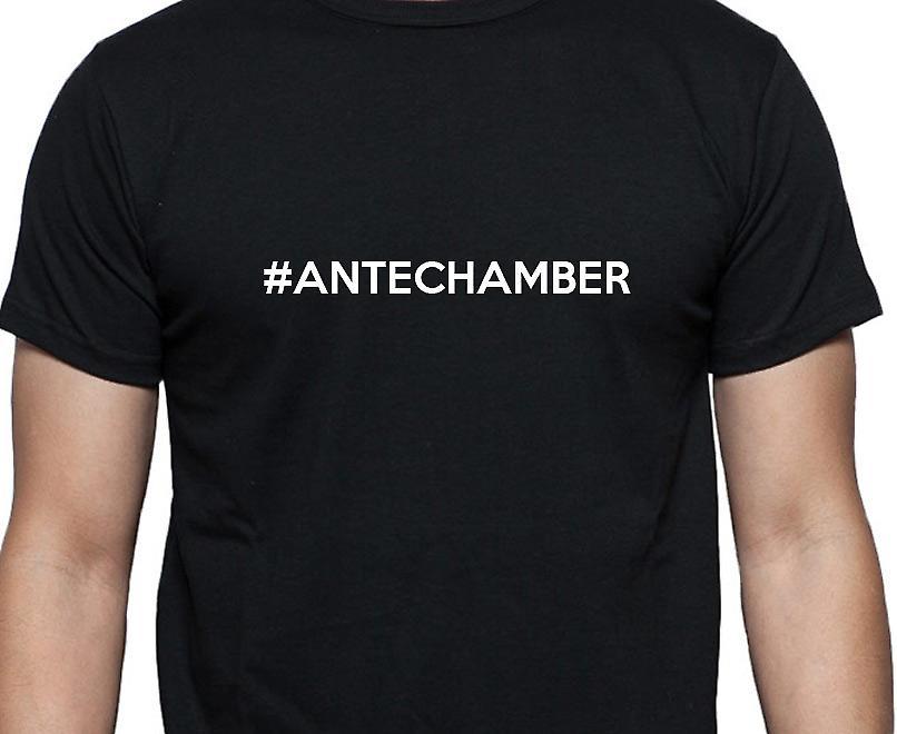 #Antechamber Hashag Antechamber Black Hand Printed T shirt