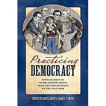 Praktizierender Demokratie: Beliebte Politik in den Vereinigten Staaten aus der Verfassung bis zum Bürgerkrieg