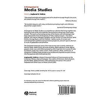 Un compañero de estudios de medios (compañeros de Blackwell en estudios culturales)