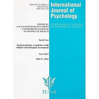 Psychologie sociale autour des origines du monde et le développement ultérieur