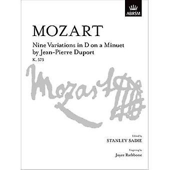 Ni variationer i D på en menuet af Jean-Pierre Duport, K. 573 (Signature Series (ABRSM))