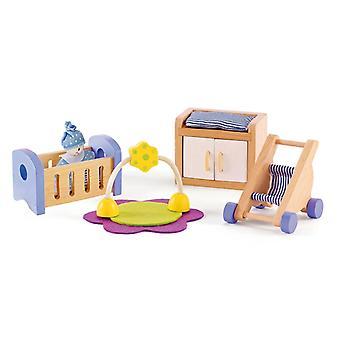 Jeu d'imitation enfant jeux jouets Chambre de bébé pour maison de poupée 0102109