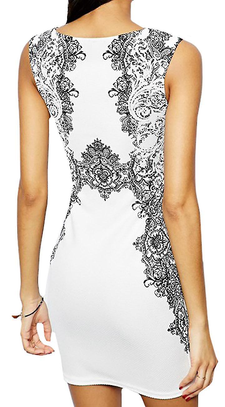 Waooh - Short dress baroque pattern Eret