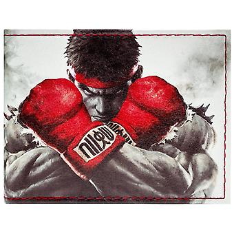 Capcom Street Fighter Ryu Ken Fight ID & Card Bi-Fold Wallet