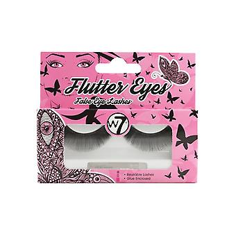 W7 Flutter Eyes Reusable False Eyelashes ~ El01