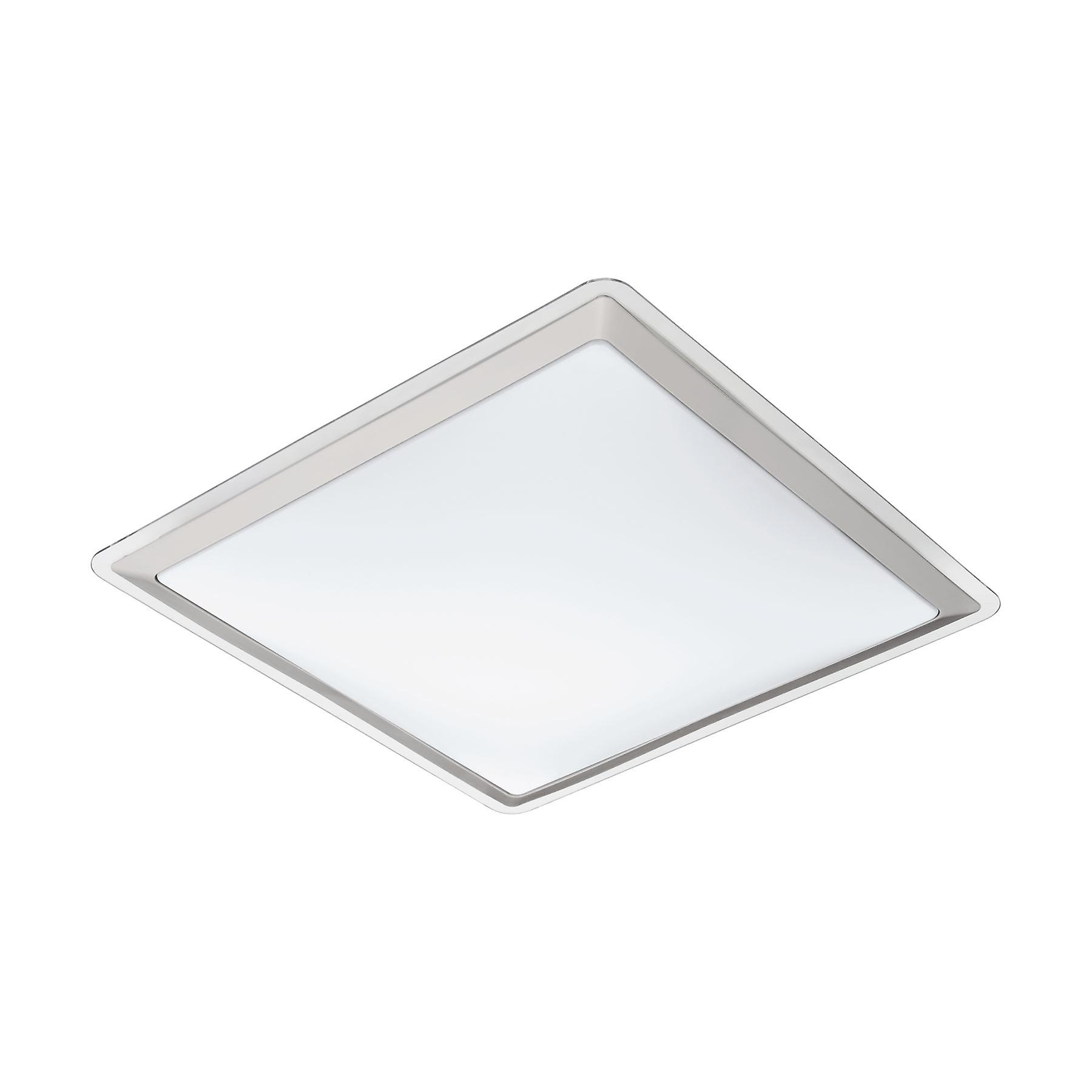 Eglo - Competa 1 LED White Square Ceiling Light EG95681