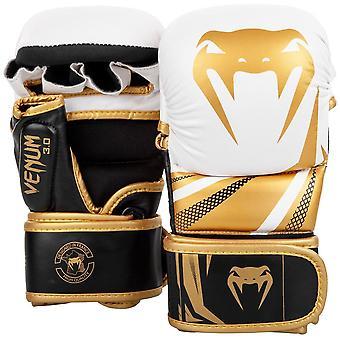 VM Challenger 3.0 MMA sparingi rękawice biały/Black-Gold