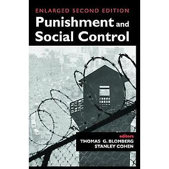 العقوبة والمقالات الرقابة الاجتماعية تكريما شيلدون لام ميسينجير ستانلي كوهين &