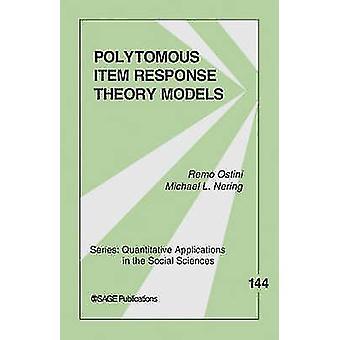 Modelli di teoria di risposta Polytomous elemento di Ostini & Remo