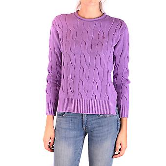 Ralph Lauren Lilac Cotton Sweater