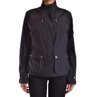 Aspesi Black Nylon Outerwear Jacket