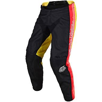 Troy Lee Designs Black-Yellow GP 19s PreMix 86 MX Pant