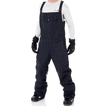 Quiksilver Black Found Snowboarding Dungarees
