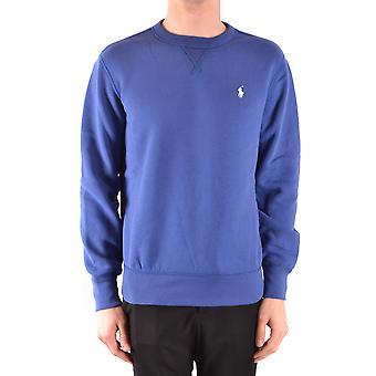 Ralph Lauren blå Bomuldssweatshirt