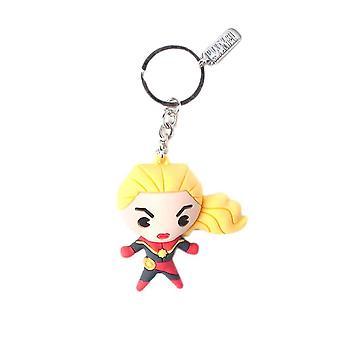 Captain Marvel kawaii 3D sleutelhanger