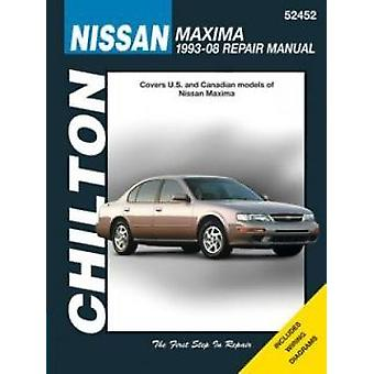 Nissan Maxima Automotive Repair Manual - 93-08 - 9781620921111 Book