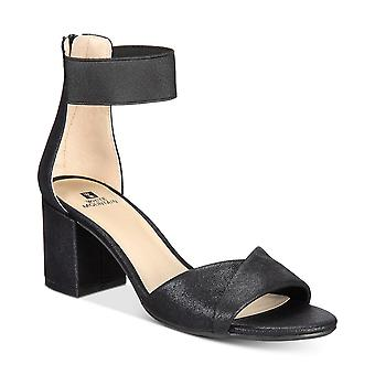 White Mountain Womens Ever Fabric Open Toe Special Occasion Ankle Strap Sandals