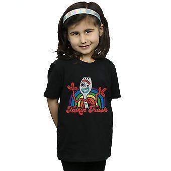 Disney Mädchen Spielzeug Geschichte 4 Forky Talkin' Trash T-Shirt