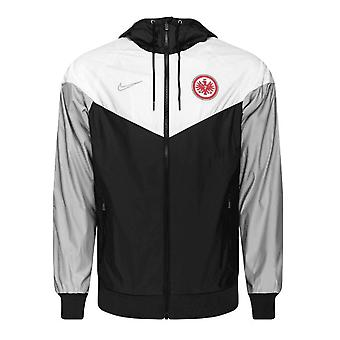 2019-2020 Eintracht Frankfurt Nike Authentic Windrunner Jacket (Black)