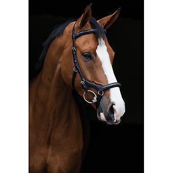 Rambo Micklem Competition Deluxe English Leather Bridle - Black