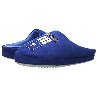 Doctor Who TARDIS Printed Slippers Dames