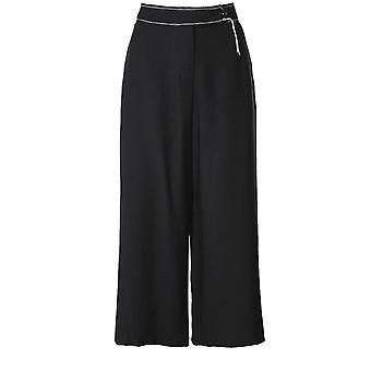 Crea Concept Wide Leg Cropped Trousers