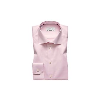 Eton Contemporary Fit Pink Shirt Pink