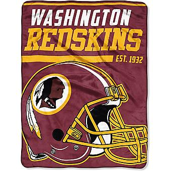 Northwest NFL Washington Redskins Mikro Plüschdecke 150x115c