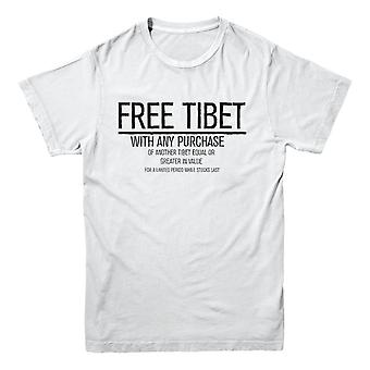 Offizielles Foul-Play T-Shirt - Free Tibet