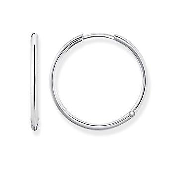 Thomas Sabo zilver vrouwen hoepel oorbellen 925 CR610-001-12