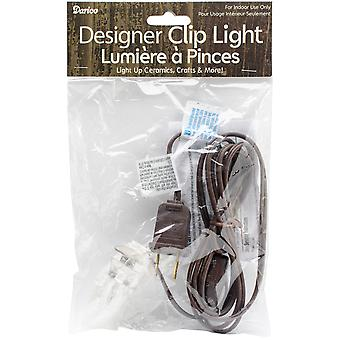Brown Cord W/Light 6ft- 6406