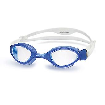 Head Tiger Swim Goggle - Clear Lens - Blue Frame