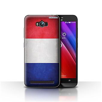 STUFF4 Case/Cover for Asus Zenfone Max ZC550KL/France/French/Flags