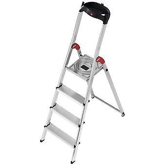 Hailo Aluminum ladder L60 Easyclix (6 Steps) (DIY , Tools , Stairs and stools)