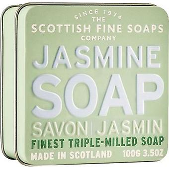 Scottish Fine Soaps Jasmin Seife Tin