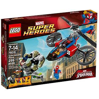 Lego Spider-Helicopter Rescue (Toys , Constructions , Vehicles)