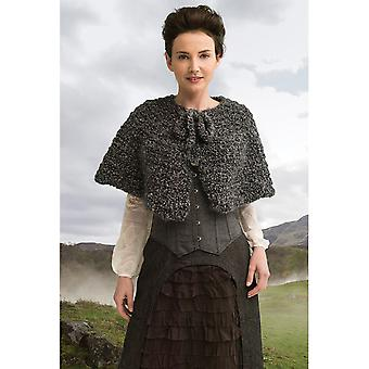 Outlander Yarn Kit-The Way Out Captivating Capelet 600-612