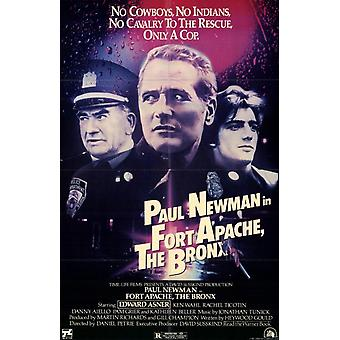 Fort Apache le Bronx film Poster (11 x 17)