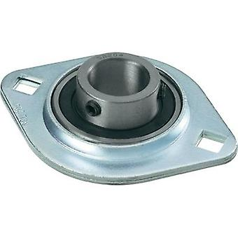 Flange bearing UBC Bearing Steel plate SBPFL 204 Bore diameter 20 mm Hole spacing 71.5 mm
