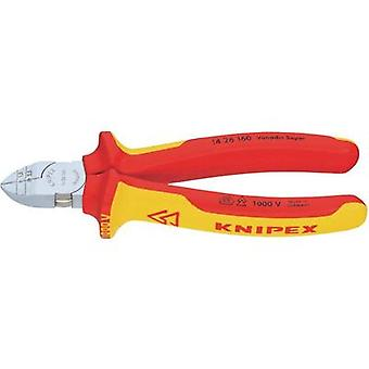 VDE Stripper side cutter combo non-flush type 160 mm Knipex 14 26 160