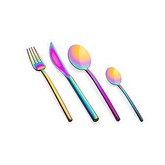 Mepra Due Rainbow 4 pcs flatware set