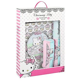 Charmmy Kitty Set Regalo Zaino Scuola