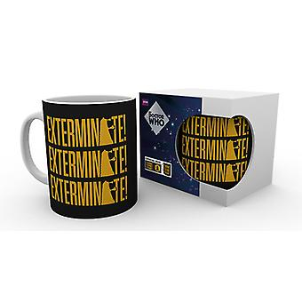 Doctor Who exterminar taza